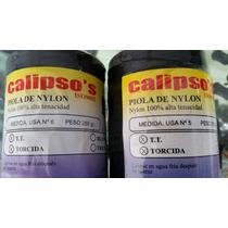 Piola Nylon Para Chinchorro Calipsos No 5 Y 6