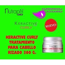 Keractive Curly Tratamiento Para Cabello Rizado 360 G.