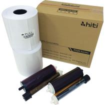Papel Y Tinta Hiti 6x8 Para P520l Caja Con 500 Impresiones