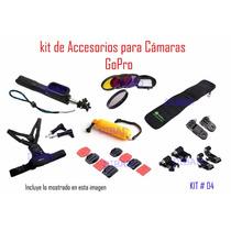 Go Pro - Kit Accesorios (moderno) , Filtro P/lente---calidad