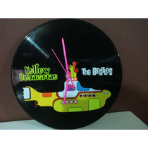 Reloj De Pared The Beatles Y Yellow Submarine Dmm