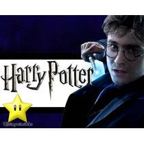 Invitaciones Harry Potter Diseñá Tarjetas, Cumples Y Mas