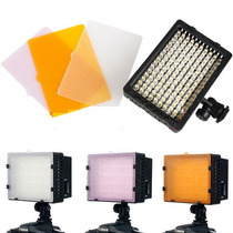 Lampara Leds Cn-160 Luz Video 5400k Nikon Sony Canon Mdn