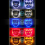 Transformers Emblemas Con Luz Para Auto, Moto O Laptop.