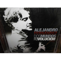 Alejandro Fernandez Dos Mundos Revolucion Cd + Dvd Sellado