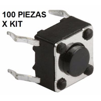 Push Button Micro Switch Boton Pulsador 6x6x6 Varias Medidas