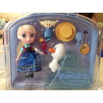 Elsa Mini Muñeca Toddler Animators De La Disney Store.
