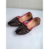 Zapatos De Piel Antiguos Para Muñeca Clave (1731)