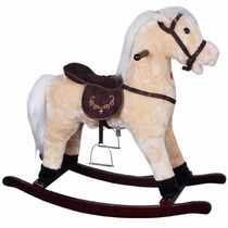 Pony Caballo Para Niños Mecedora Caballito Divertido Afelpad