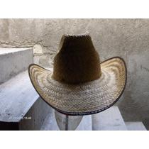Sombrero De Palma Tipo Rodeo Vaquero Para Fiestas Animación