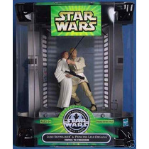 Star Wars, Luke Skywalker & Princess Leia Organa Swing To Fr