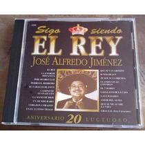 Jose Alfredo Jimenez 20 Aniv Luctuoso Sigo Siendo El Rey Cd
