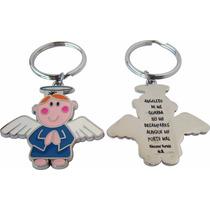 Llaveros De Angelitos Virgencitas Y Santitos Recuerdos Bolos