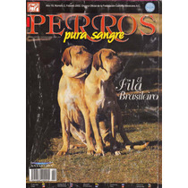 Revistas De Perros Fila Brasileiro Febrero 2002