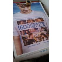 Poster De Cine Original. 500 Dias Con Ella. Juno, 69 X 99
