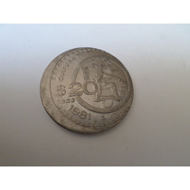 Error 20 Pesos 1981 Descentrada Dificil