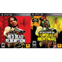 Red Dead Redemption + Undead Nightmare Completo Ps3