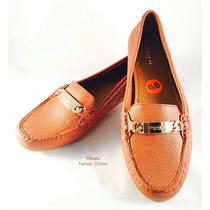 Zapatos Mocasines Coach Número 24.5 Mexicano 100% Originales