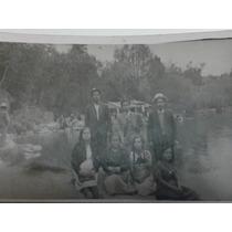 Foto Antigua De Familia En El Lago De Chapultepec (1941)