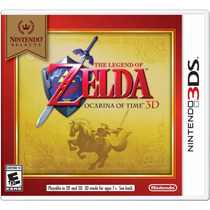 !! The Legend Of Zelda Ocarina Of Time Para Nintendo 3ds !!!