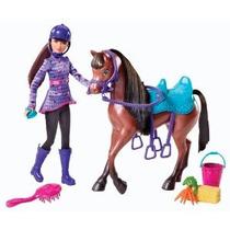 Barbie Y Sus Hermanas En Un Pony Tale Skipper Y Caballo Doll
