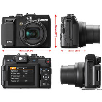 Canon Powershot G1x 14mp Camara Digital - Envio Gratis -