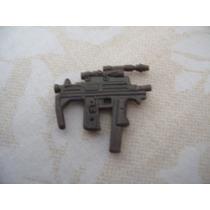 Gijoe 2003 Cobra C.l.a.w.s. Commander Brown Machine Pistol