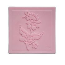 Molde De Silicon Estampar Jabon Rosa, Flor