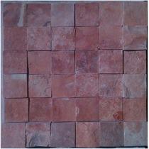 Tlayua Piedra Laja Natural En Malla 30x30 Cm