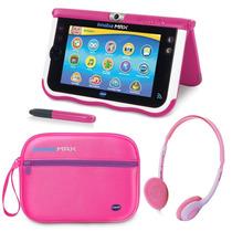 Tablet Infantil Vtech Innotab Max + Audífonos Y Maletin Rosa