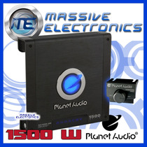Amplificador Planet Audio Ac1500.1m 1500w Anarchy 1 Canal Ch
