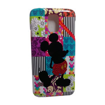 Funda Protector Mobo Samsung Galaxy S5 Mickey Silueta Mosaic