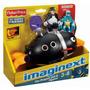Tb Fisher-price Imaginext Super Friends Penguin And Batman