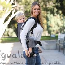 Portador Para Bebes Lillebaby Gris Con Plata