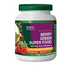 Berry Superfood Verde Con Goji Acai Y Frambuesa Crudo Orgáni