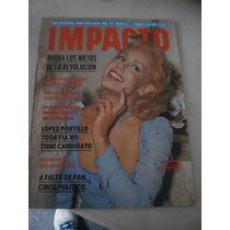 Impacto- Gina Morett, Sensacional # 1617 Año 1981
