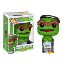Funko Pop Oscar The Grouch Sesame Street / Plaza Sesamo