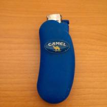 Funda Plastica Para Encendedor Camel De Colección