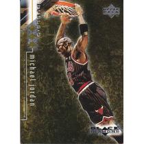 1998-99 Ud Black 3x Diamond Gold Michael Jordan /1500 Bulls