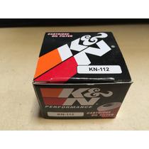Filtro Aceite Moto K&n Kn-112 Honda Kawasaki 250 300 450