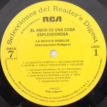 Acetato Disco Lp Vinil El Amor Es Una Cosa Esplendorosa