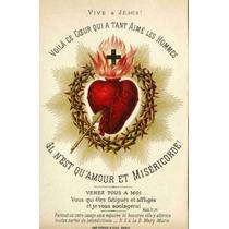 Lienzo Tela Sagrado Corazón De Jesús 77 X 50 Cm Arte Sacro