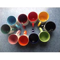Taza Color Interno Con Asa Del Mismo Color P/sublimacion Vv4