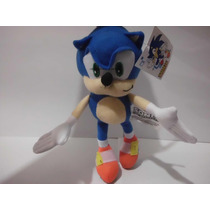 Sonic Peluche The Hedgehog Shadow Silver Sega Genesis Mdn