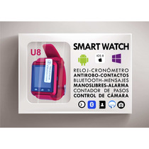 Smart Watch Reloj Inteligente U8 Msn Llamadas Iphone Android