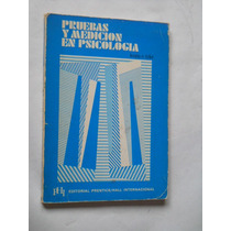 Pruebas Y Medicion En Psicologia Leon E. Tyler