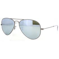Lentes Ray Ban Aviator Rb 3025 029/30 Gunmetal Blue Mirror
