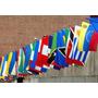 Lote 7 Banderas De Países90x150cm, Previo Acuerdo, Con Envío