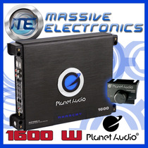 Amplificador Planet Audio Ac1600.4 1600w Anarchy 4 Ch Bajos