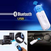 Receptor Inalambrico Usb X Bluetooth Music P Estereo Bocina